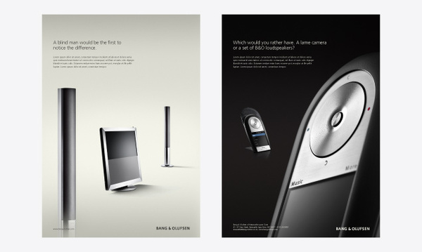 Bang & Olufsen Ad #1