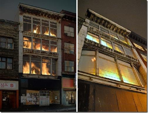 burning building 3
