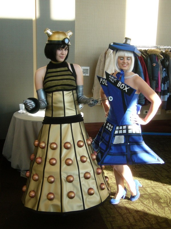 doctor who dalek tardis costumes