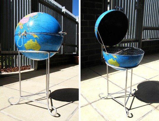 globe bbq grill design