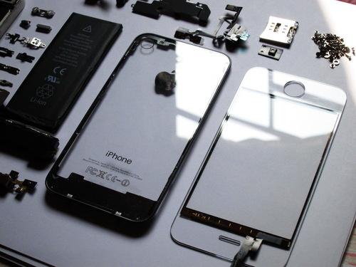 iPhone 4 transparent case