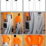 mobile charging pants