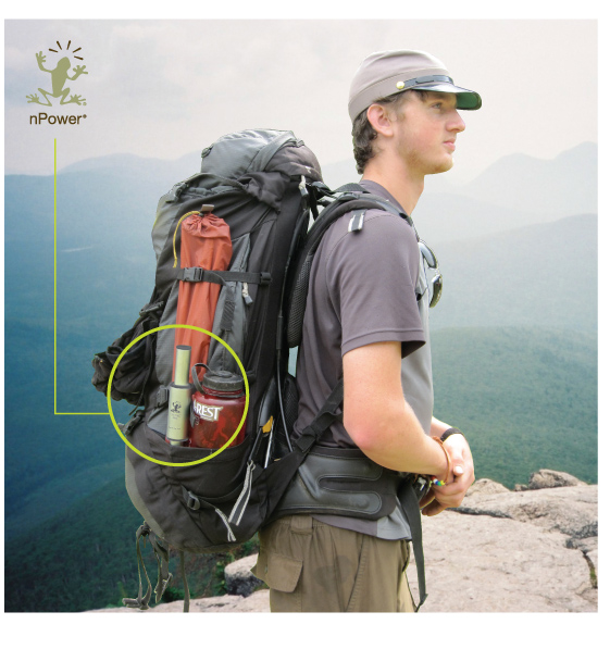 nPower PEG Carried in Backpack