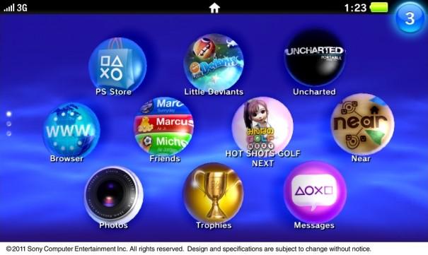 NGP PSP2 UI