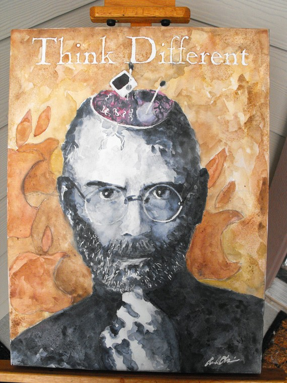 Steve Jobs Painting Overview