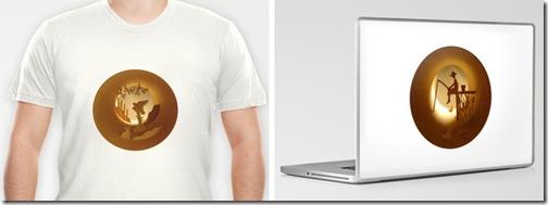 paper cuts 2 shirt