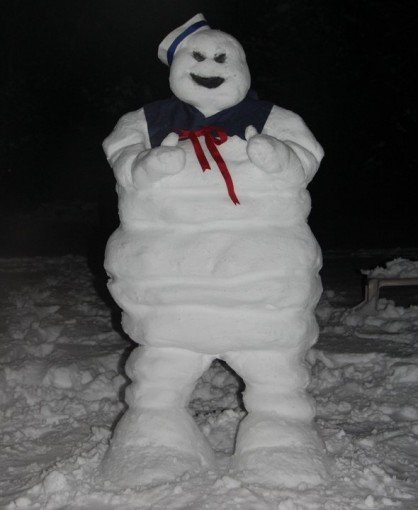 Stay Puff Marshmallow Man Snowman