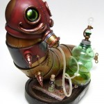 steampunk caterpillar alice in wonderland design