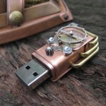 steampunk mouse usb design art 2
