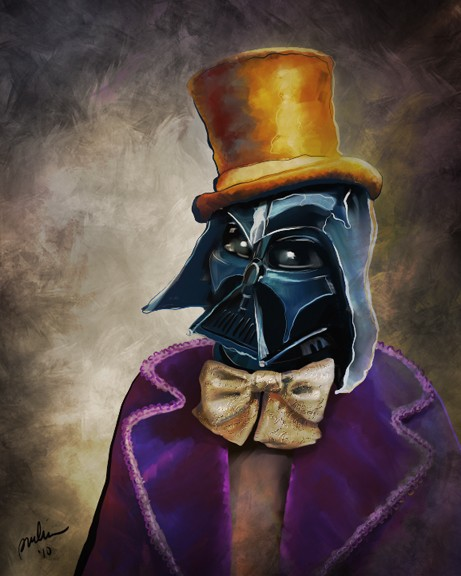 wonka vader darth vader willy wonka