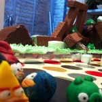 Angry Birds Cake Finished