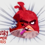 Angry Zombie Red Bird