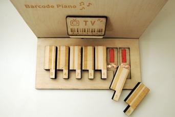 Barcode Piano 4