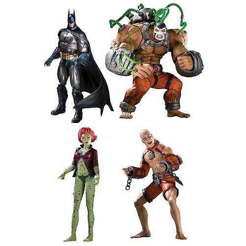 Batman Arkham Asylum Action Figure Set