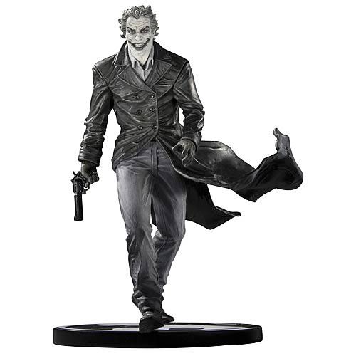 Black and White Joker Statue