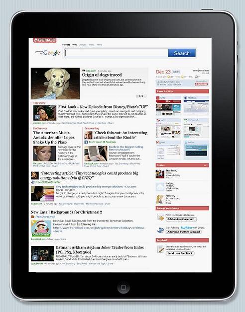 Genieo iPad