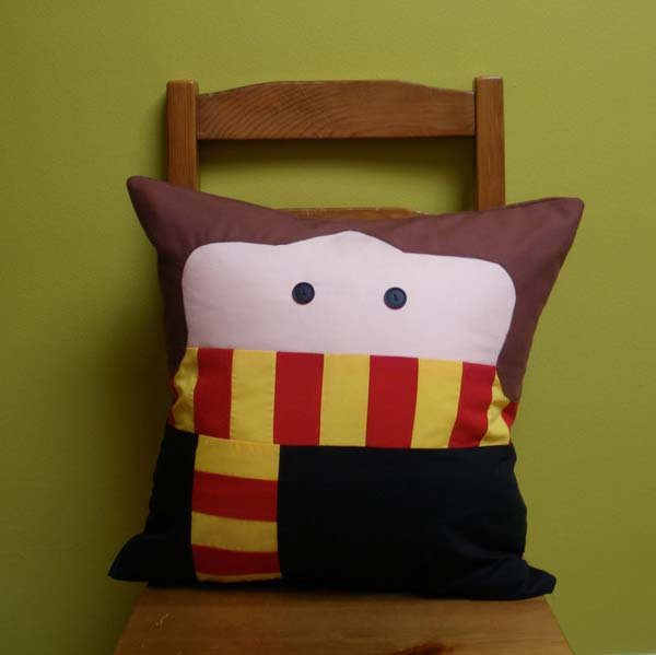 Girl Wizard Pillow
