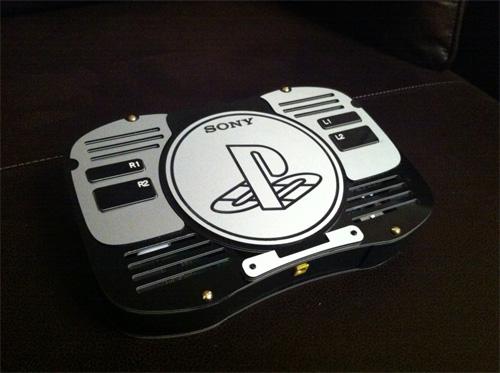Handheld Playstation 2 Rear