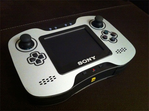 Handheld Playstation 2