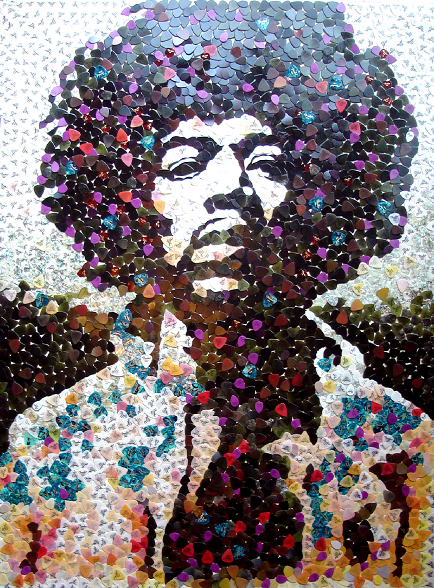 Hendrix Pick Art 1
