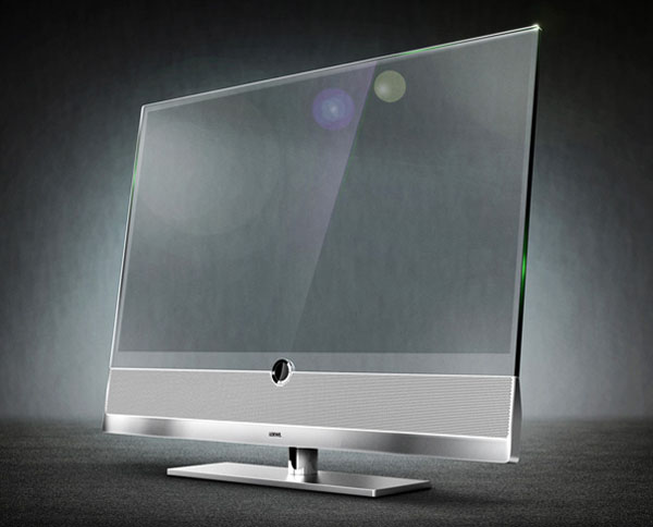 Invisio Transparent TV Screen