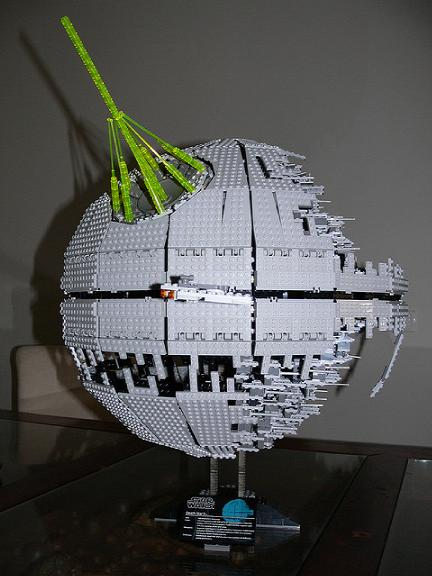 LEGO death star 3