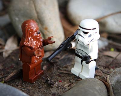 Lego Star Wars Clock Turret