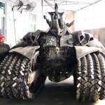 Megatron Tank size
