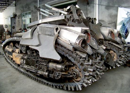 Megatron Tank three quarter