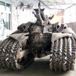 Megatron tank front