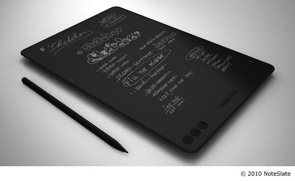 NoteSlate Black