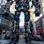 Optimus Prime statue 2