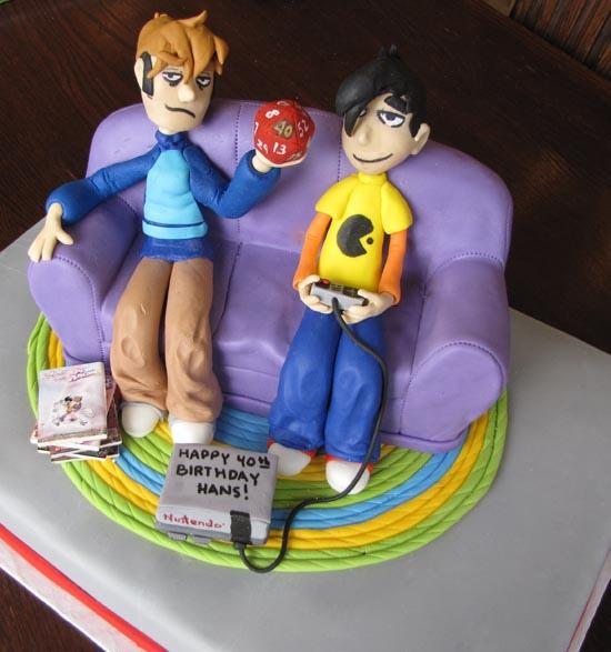 Penny Arcade Cake 1