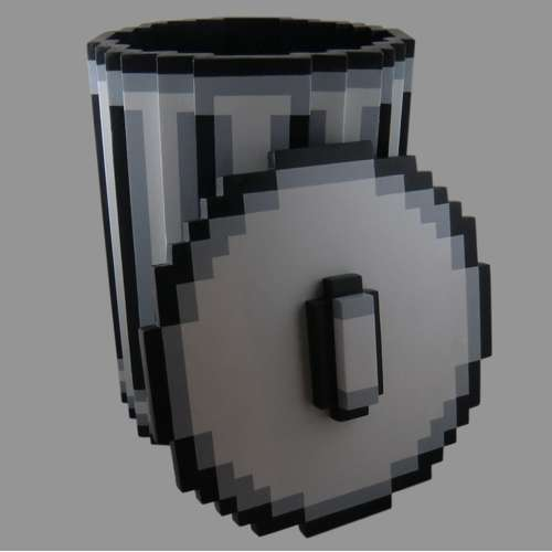 Pixel-Trash-Can 2