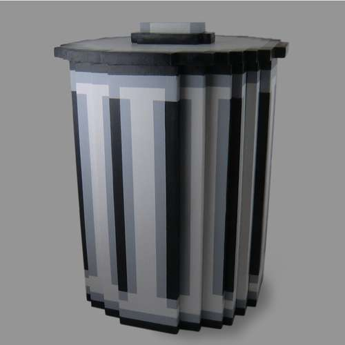 Pixel-Trash-Can