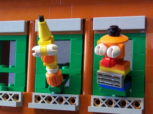 Sesame Street Lego Bert and Ernie