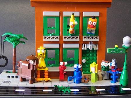 Sesame Street Lego