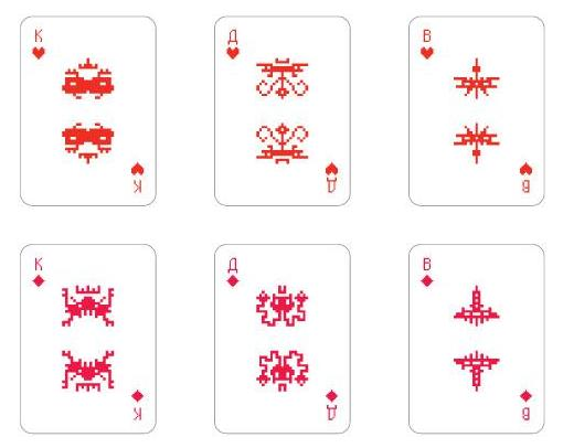 Space Invaders Cards 3