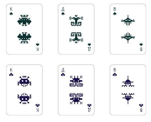 Space Invaders Cards 5