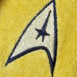 Star Trek Bathrobe Insignia