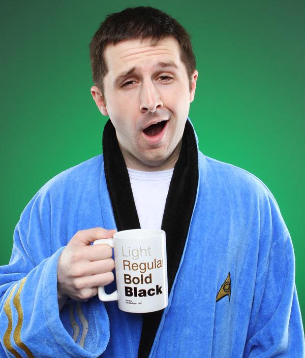 Star Trek Kirk Bathrobe