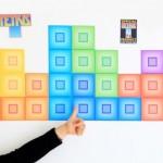 Tetris Interactive Wall Graphics 1