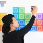 Tetris Interactive Wall Graphics 3