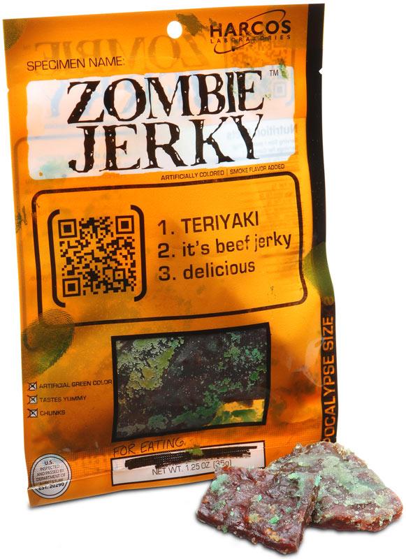 Think Geek Zombie Jerky