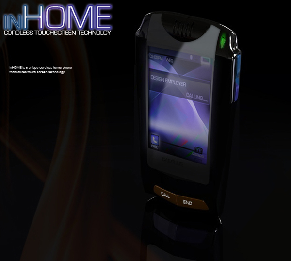 Touch Screen Home Phone 6