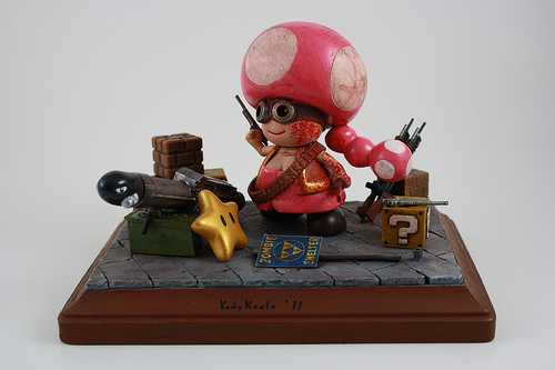 Zombie Hunter Toadette front