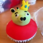 angry birds cupcake 5