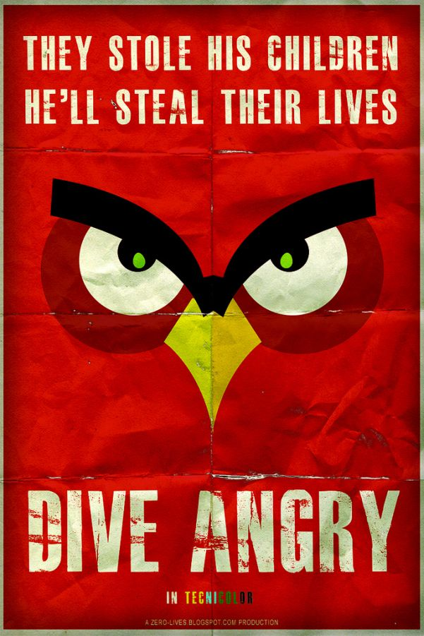 angry birds horror movie dive angry