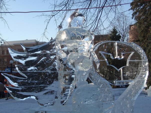 batman ice sculpture