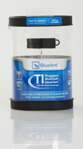 blueant t1 bluetooth headset box f